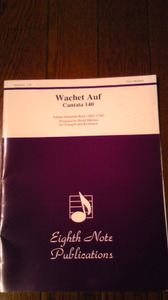 Wachet Auf Cantata 140/  J.S.Bach作曲 David Marlatt編曲