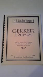 Chris Gekker作曲 44DUOS FOR TRUMPET