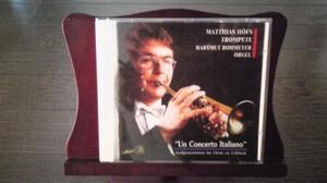"""Un Concerto Itariano "" 演奏者 マティアス・ヘフス教授(Prof.Matthias Hofs)"