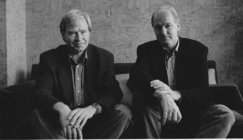 左:クレッツアー氏 右:グロート教授