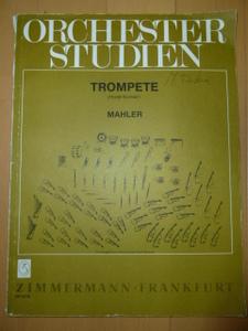 ORCHESTER STUDIEN MAHLER ZIMMERMANN/FRANKFURT