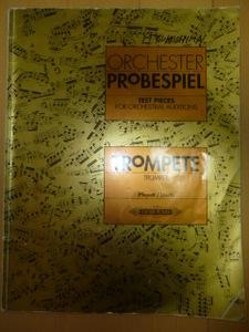 ORCHESTRA PROBESPIEL(オーケストラ プローベシュピール)EDITION PETERS