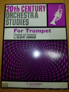 20th CENTURY ORCHESTRA STUDIES Complied and Annotated by GILBERT JOHNSON  G/SCIRMER