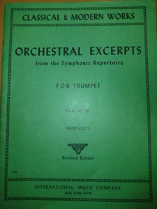 ORCHESTRAL EXCERPTS (INTERNATIONAL MUSIC COMPANY)