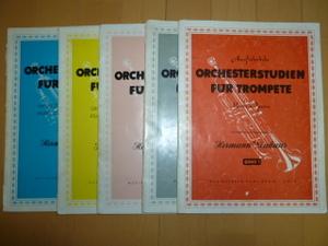 ORCHESTERSTUDIEN FUR TROMPETE (Hermann Neuhaus)